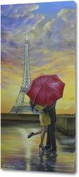 Картина Свидание в Париже