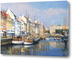 Постер Новая Гавань в Копенгагене