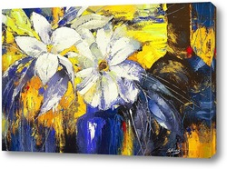 Картина Голубая ваза