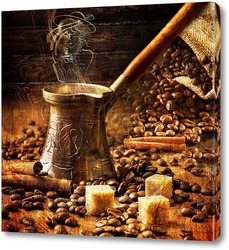 Постер Турка с кофе