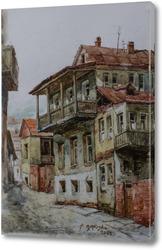 Старый дом в Тбилиси