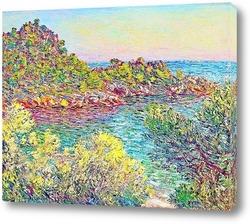Картина Пейзаж близ Монтекарло