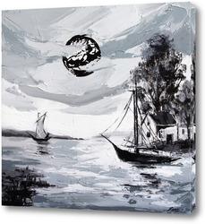 Картина Страница моря