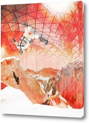 Постер Зимний прыжок