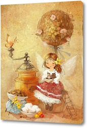 Картина Кофейная фея