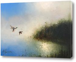 Картина В плавнях