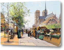 Картина Нотр-Дам де Пари