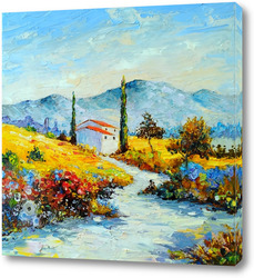 Картина Синие горы Прованса