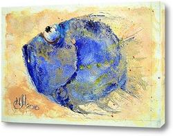 Постер Голубая фишка