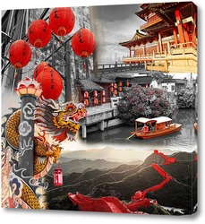 Постер Яркий Китай