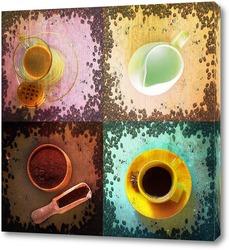 Постер Кофейный набор