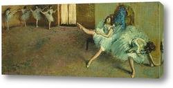 Картина Перед выступлением балета