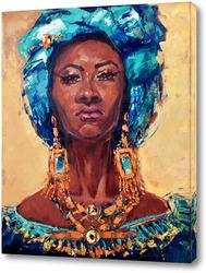 Картина Королева Африки.