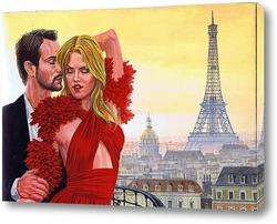 Картина Вечер в Париже