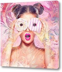 Постер Пончики с глазурью