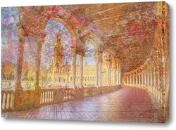 Постер Цветущая арка Испании