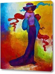 Картина Фиолетовая дама