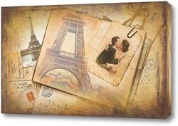 Постер Романтика Парижа
