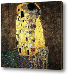 Картина Поцелуй. 1908