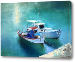 Постер Кораблики. Родос