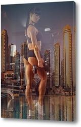 Постер Тренировка в мегаполисе