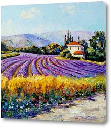 Картина Лавандовые поля Прованса
