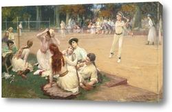 Картина Клуб большого тениса