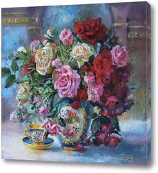 Нежный аромат роз