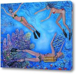 Постер Девушки-рыбы