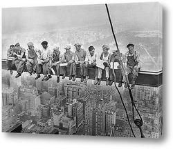 Постер Обед над Мантхэттеном