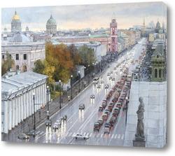 Постер Невский после дождя