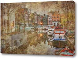 Постер Пейзажи Амстердама