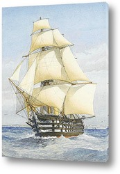 Картина Винт трехпалубный