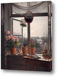 Картина Вид из комнаты художника, ок. 1825