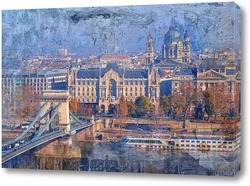 Постер  Старый город Будапешт