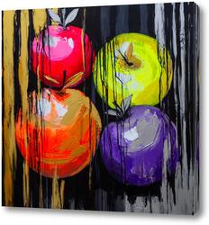 Картина Яблоки к празднику