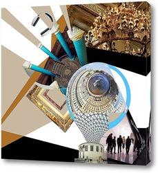 Картина Видение города