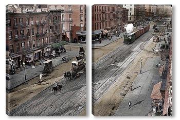 Модульная картина Нью-Йорк 1909