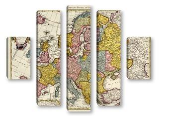 Модульная картина Европа_25
