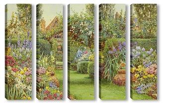 Модульная картина Сад
