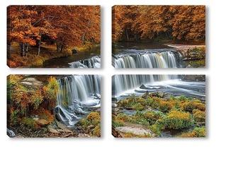 Модульная картина Водопад Keila-Joa