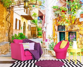 Фотообои Средиземноморская улица