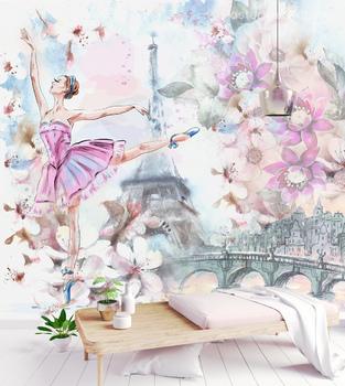 Фотообои Балерина в Париже