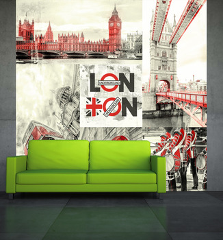 Фотообои London city