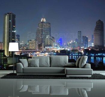 Фотообои Ночь в Бангкоке