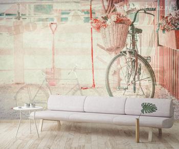 Фотообои Декорированный велосипед