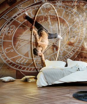 Фотообои  Цирковой художник