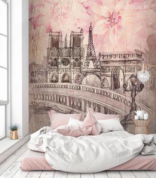 Фотообои Архитектура Парижа
