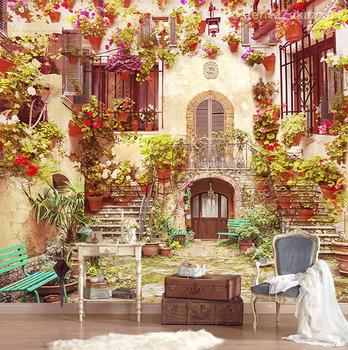 Фотообои Архитектура в цветах