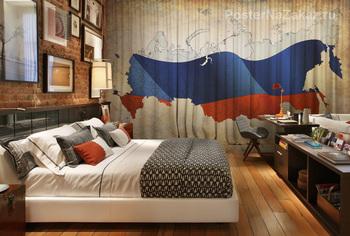 Фотообои Карта России